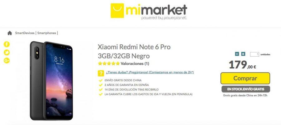 Xiaomi Redmi Note 6 Pro - MiMarket