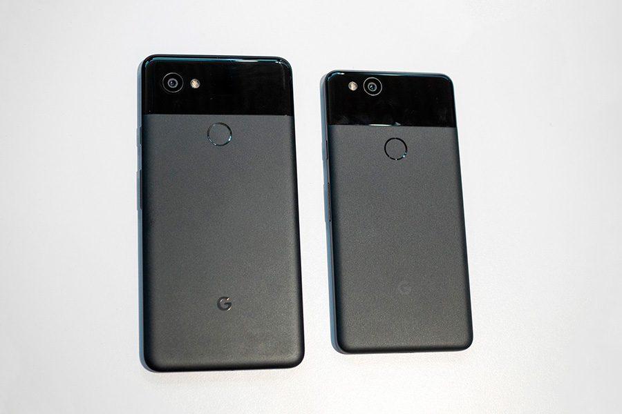 Для сравнения: Google Pixel 2 и Pixel 2 XL