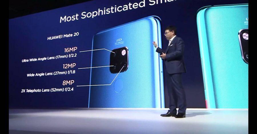 Характеристики основной камеры Huawei Mate 20