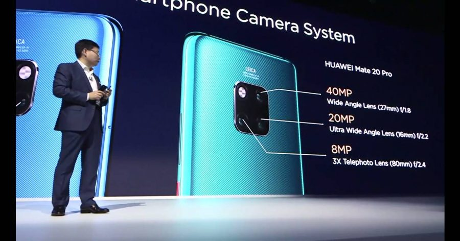 Характеристики основной камеры Huawei Mate 20 Pro