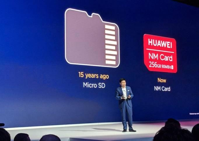 Huawei представляет NM Card