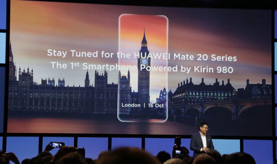 Дата проведения презентации Huawei Mate 20 была объявлена еще на международной выставке IFA 2018 в Берлине