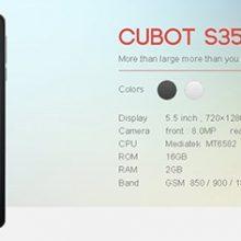 CUBOT S350