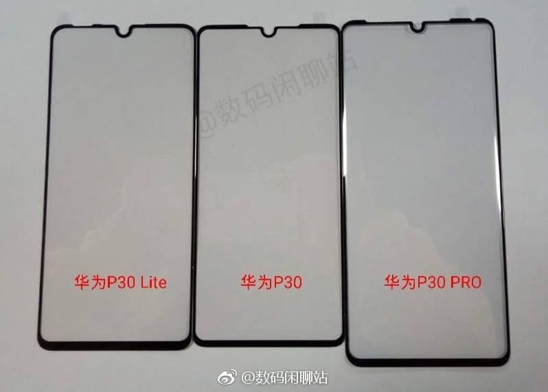 Сравнение экранных панелей Huawei P30 Lite и старших моделей