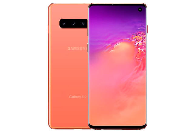 "Samsung Galaxy S10 Flamingo Pink - ""Розовый фламинго"""