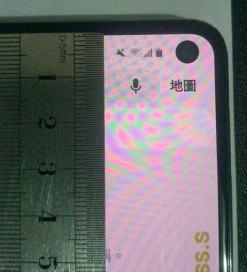 Дырка под камеру Samsung Galaxy S10e