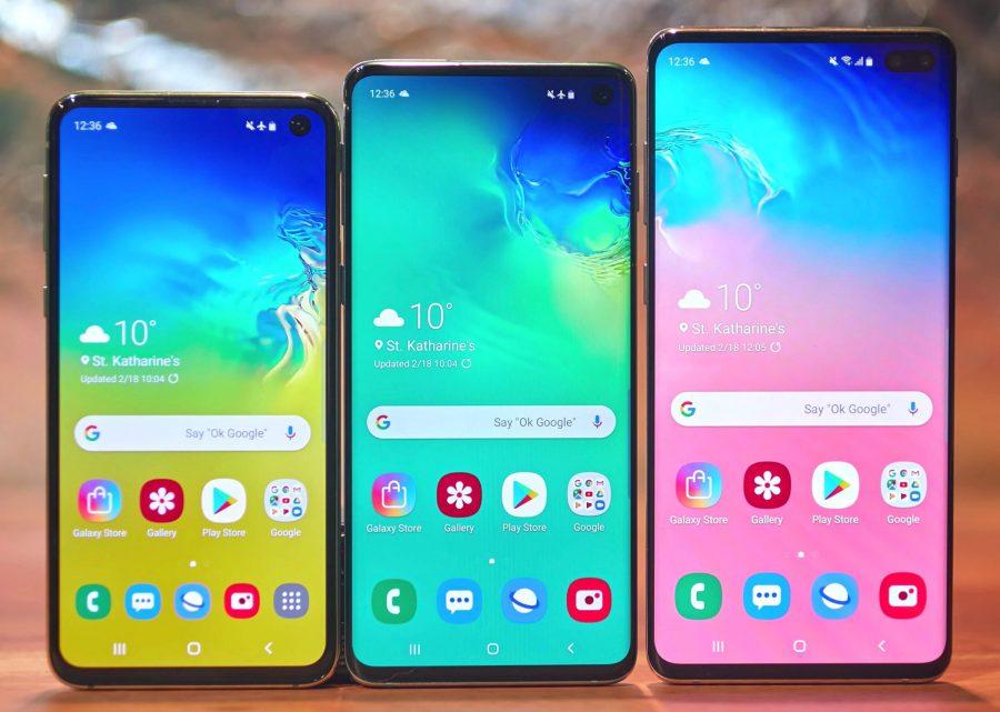 Экраны Galaxy S10 S10+ S10E