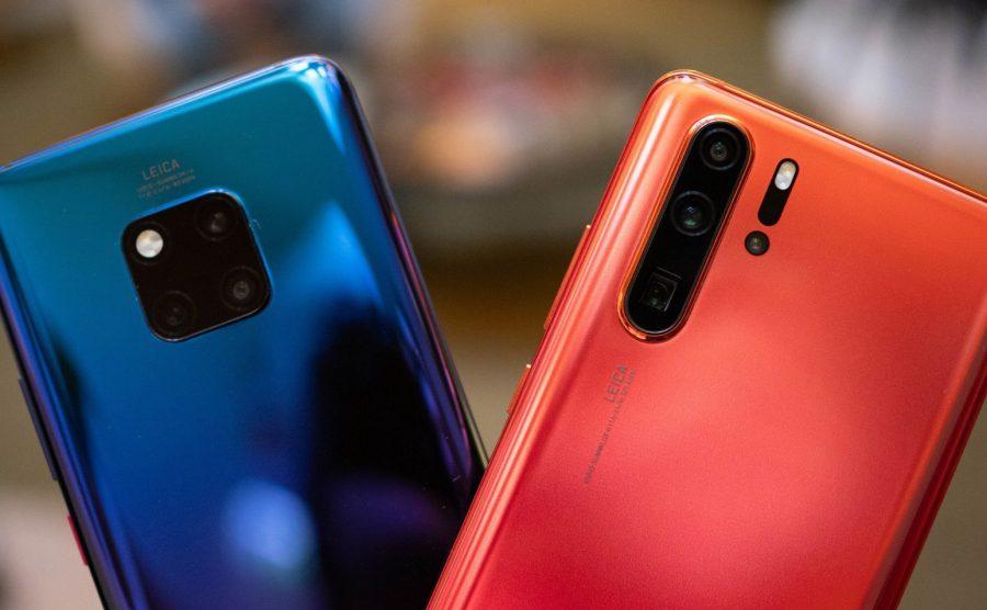 Сравнение Huawei P30 Pro и Mate 20 Pro
