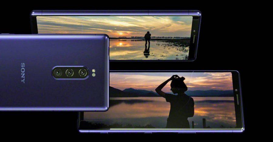 Экран Sony Xperia 1