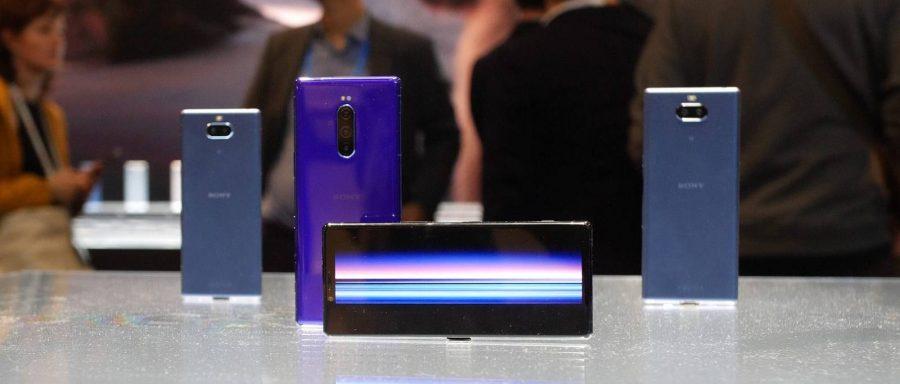 Дизайн Sony Xperia 1