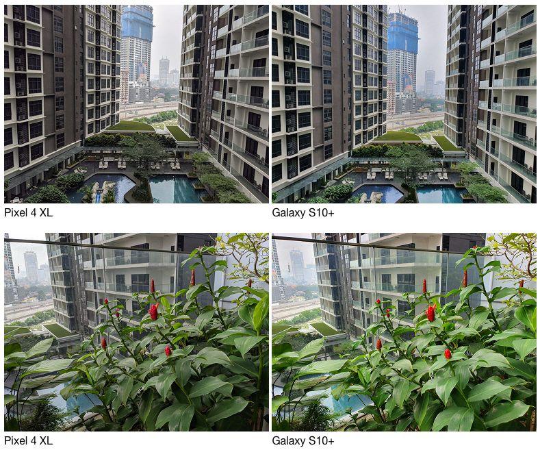 Сравнение камер Google Pixel 4 и Samsung Galaxy S10