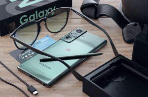 Рендер Samsung Galaxy Note 21