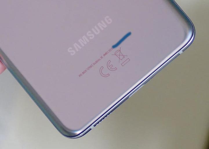 Где искать IMEI на корпусе Samsung Galaxy S21