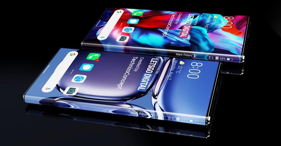 Один из концептов Huawei Mate 50 Pro