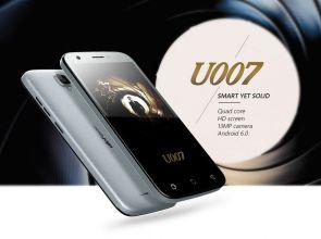 Ulefone U007: смартфон для суперагента всего за 49.99 долларов