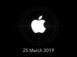 Презентация Apple 25 марта 2019 года официально анонсирована