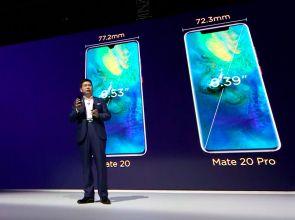 Huawei Mate 20,  Mate 20 Pro, Mate 20 RS и Mate 20 X представлены официально