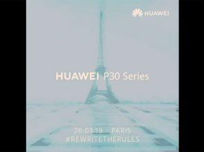 Дата выхода Huawei P30 и P30 Pro перенесена на 26 марта