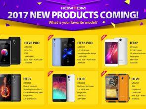 Новинки HomTom 2017 года: HT20 Pro, HT16 Pro, HT27, HT37 и HT30