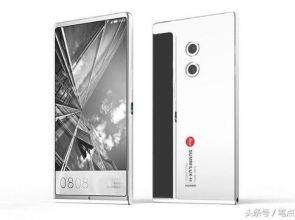 Оригинальный безрамочный концепт Huawei P11 Plus с двумя экранами