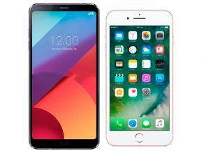 Сравнение LG G6 vs Apple iPhone 7 не в пользу прошлогодних «яблок»