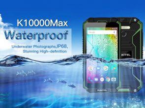 Oukitel K10000 Max: неубиваемый смартфон с аккумулятором 10000 мАч