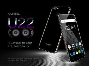 Краткий обзор Oukitel U22: смартфон с 4 камерами, но слабым «железом»