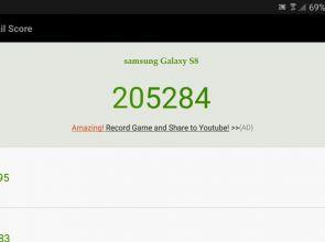 Samsung Galaxy S8 побил рекорд AnTuTu с результатом 205 284 баллов