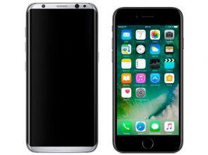 Samsung Galaxy S8 vs Apple iPhone 7: восемь преимуществ «корейца»
