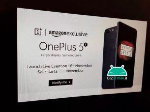Презентация OnePlus 5T все-таки состоится и пройдет 16 ноября